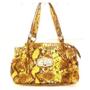 New super cute snake print purse